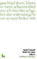 Zeichen Im Schnee Gedichte Norbert Hummelt Google Books