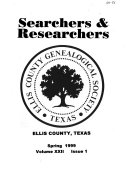 Searchers Researchers Of Ellis County Texas