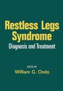 Restless Legs Syndrome Book PDF