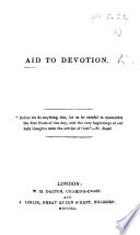 Aid to Devotion Book
