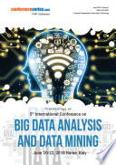 Proceedings of 5th International Conference on Big Data Analysis and Data Mining 2018