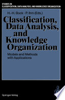 Classification  Data Analysis  and Knowledge Organization