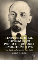 Lenin's Electoral Strategy from 1907 to the October Revolution of 1917 Pdf/ePub eBook