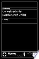 Umweltrecht der Europäischen Union