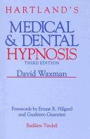 Hartland s Medical   Dental Hypnosis