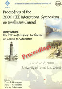 Proceedings of the 2000 IEEE International Symposium on Intelligent Control