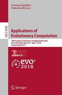 Applications of Evolutionary Computation Book