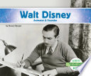 Walt Disney  Animator   Founder