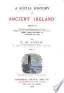 A Social History of Ancient Ireland