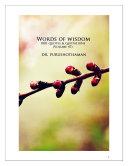 Pdf Words of Wisdom (Volume 47) Telecharger