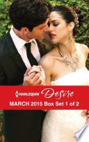 Harlequin Desire March 2015   Box Set 1 of 2