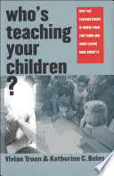 Who s Teaching Your Children