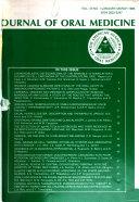 Journal of Oral Medicine