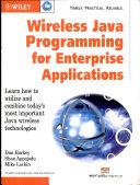 wireless java programming for enterprise applications Book
