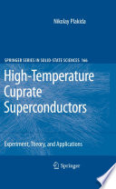 High Temperature Cuprate Superconductors Book