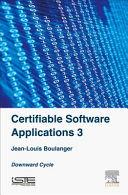 Certifiable Software Applications 3  Downward Cycle