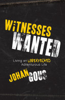 Witnesses Wanted