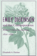 Emily Dickinson and Her Contemporaries: Women's Verse in ...