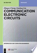 Communication Electronic Circuits
