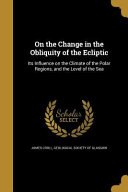 ON THE CHANGE IN THE OBLIQUITY