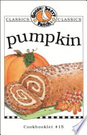 Pumpkin Cookbook Book