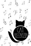 Cat Vaccination Record Book