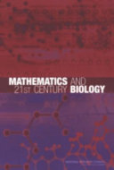 Mathematics and 21st Century Biology