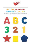 Letters  Numbers  Shapes and Colors