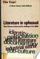 Literature in Upheaval