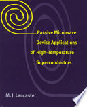Passive Microwave Device Applications Of High Temperature Superconductors Book PDF