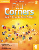 Four Corners Level 1 Full Contact with Self study CD ROM