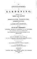 An Encyclop  dia of Gardening