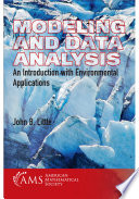 Modeling and Data Analysis  An Introduction with Environmental Applications