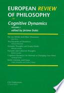 European Review of Philosophy: Volume 2, Cognitive Dynamics
