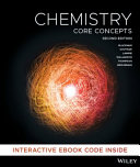 Cover of Chemistry Core Concepts 2E Hybrid