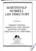 The Martindale-Hubbell Law Directory  , Bände 1-4;Bände 6-8;Bände 10-11;Bände 13-14;Bände 17-18