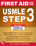 First Aid for the USMLE Step 3  Fifth Edition
