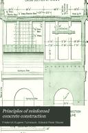 Principles of Reinforced Concrete Construction