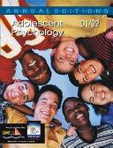 Adolescent Psychology  2001 2002 Book