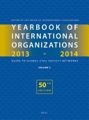Yearbook of International Organizations 2013 2014  Volume 5