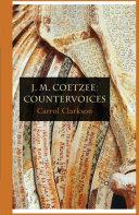 Pdf J. M. Coetzee: Countervoices Telecharger