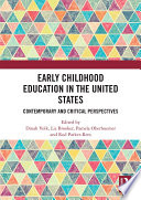 Early Childhood Education in the United States