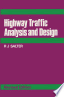 Highway Traffic Analysis and Design