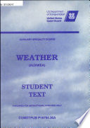 Auxiliary Specialty Course Weather  AUXWEA