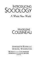 Introducing Sociology