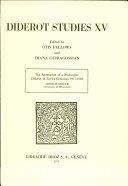 Diderot Studies