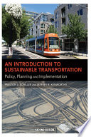 An Introduction to Sustainable Transportation Book