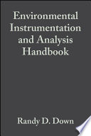 Environmental Instrumentation And Analysis Handbook PDF