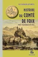 Pdf Histoire du Comté de Foix (Tome Ier : des origines au XIVe siècle) Telecharger