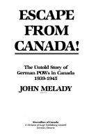 Escape from Canada  Book